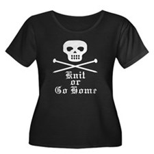 knitorgohome Plus Size T-Shirt