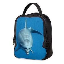 Dolphin Neoprene Lunch Bag