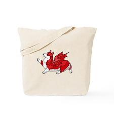 The Red Corgon (plain) - Tote Bag