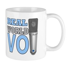 Real World Voice Over Mug Mugs