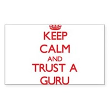 Keep Calm and Trust a Guru Decal