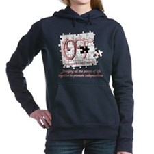 ot puzzlegreen.png Hooded Sweatshirt