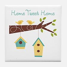 Home Tweet Home Tile Coaster