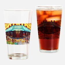 Girdners Mermaid Corner Drinking Glass
