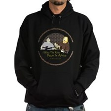 Mike and Jeff Africa (dark shirt) Hoodie