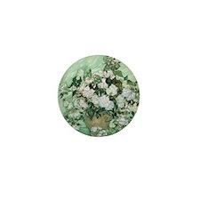 Vincent van Gogh, Roses Mini Button
