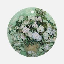 Vincent van Gogh, Roses Round Ornament