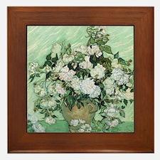 Vincent van Gogh, Roses Framed Tile