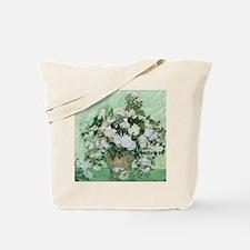 Vincent van Gogh, Roses Tote Bag