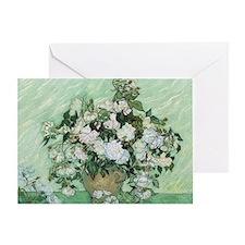Vincent van Gogh, Roses Greeting Card