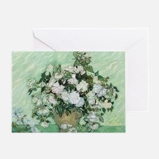 Vincent van Gogh, Roses Greeting Card