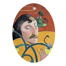Paul Gauguin, Self Portrait 1889 Oval Ornament