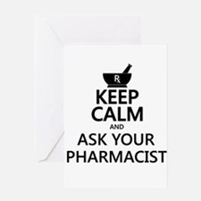 Ask a Pharmacist Greeting Card