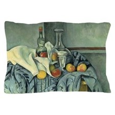 Paul Cezanne, The Peppermint Bottle Pillow Case