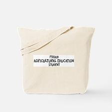 agricultural education studen Tote Bag