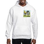 Lemon Blue OE Pair Hooded Sweatshirt