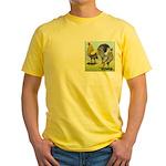 Lemon Blue OE Pair Yellow T-Shirt