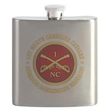 1st North Carolina Cavalry Flask