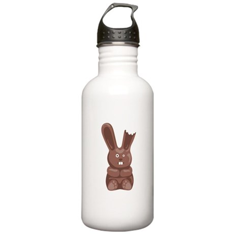 Chocolate Easter Bunny Water Bottle