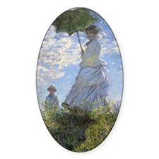 Claude Monet, Woman With A Parasol  Decal