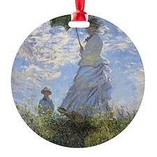 Claude Monet, Woman With A Parasol  Ornament