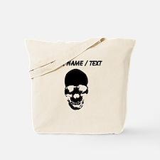 Custom Skull Tote Bag