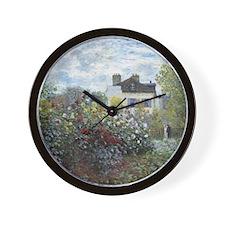 The Artist Garden, Monet Wall Clock