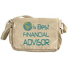 Earths Best Financial Advisor Messenger Bag