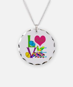 Love Easter Necklace