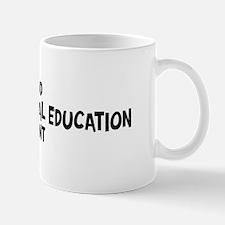 adapted physical education st Mug