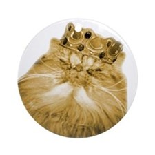 Persian Cats Home Rule Ornament (Round)