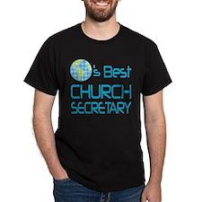 Earths Best Church Secretary T-Shirt