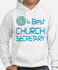 Earths Best Church Secretary Hoodie