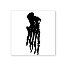 Skeleton Foot Sticker