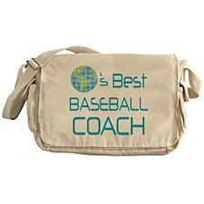 Earths Best Baseball Coach Messenger Bag