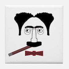 Groucho Marx Tile Coaster
