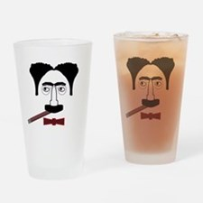 Groucho Marx Drinking Glass