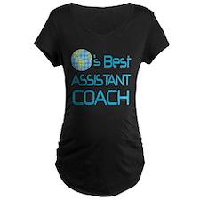 Earths Best Assistant Coach T-Shirt