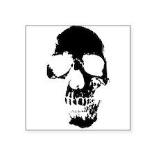 Old Skull Sticker