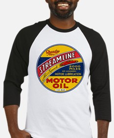 Streamline Motor Oil Baseball Jersey