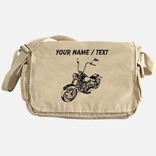 Custom Vintage Motorcycle Messenger Bag