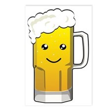 Happy Beer Mug Postcards (Package of 8)