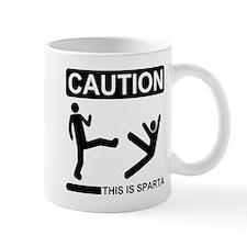 Caution: This Is Sparta Mug