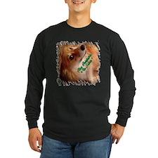 Irish Corgi Dog - Sober? Long Sleeve T-Shirt