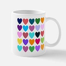 Hearts of All Kinds Mugs