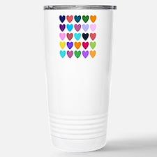 Hearts of All Kinds Travel Mug