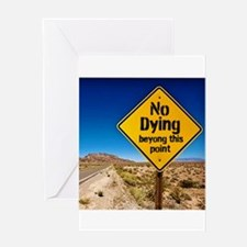 No Dying Greeting Cards