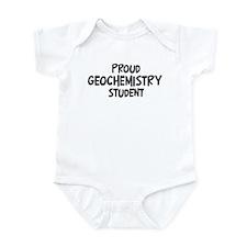 geochemistry student Infant Bodysuit