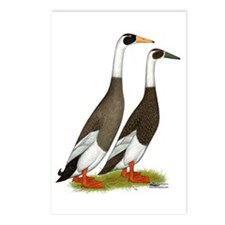 Runner Ducks Emery Postcards (Package Of 8)