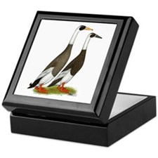 Runner Ducks Emery Penciled Keepsake Box